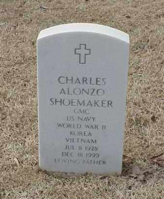 SHOEMAKER  (VETERAN 3 WARS), CHARLES ALONZO - Pulaski County, Arkansas | CHARLES ALONZO SHOEMAKER  (VETERAN 3 WARS) - Arkansas Gravestone Photos