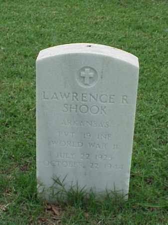 SHOOK (VETERAN WWII), LAWRENCE R - Pulaski County, Arkansas | LAWRENCE R SHOOK (VETERAN WWII) - Arkansas Gravestone Photos