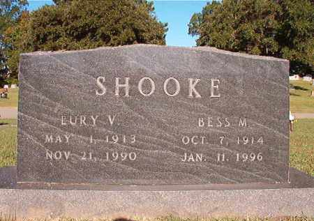 SHOOKE, EURY V - Pulaski County, Arkansas | EURY V SHOOKE - Arkansas Gravestone Photos
