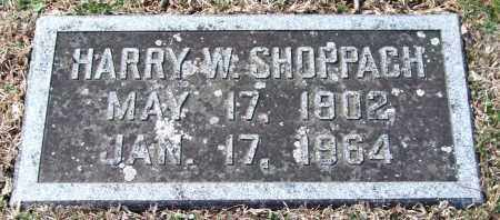 SHOPPACH, HARRY WILLIAM - Pulaski County, Arkansas | HARRY WILLIAM SHOPPACH - Arkansas Gravestone Photos
