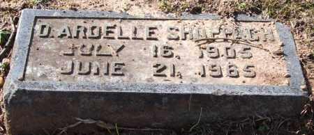 SHOPPACH, OLIVIA ARDELLE - Pulaski County, Arkansas | OLIVIA ARDELLE SHOPPACH - Arkansas Gravestone Photos