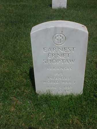 SHOPTAW (VETERAN WWI), EARNEST ERNET - Pulaski County, Arkansas | EARNEST ERNET SHOPTAW (VETERAN WWI) - Arkansas Gravestone Photos