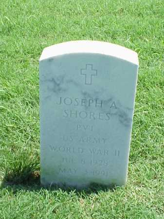SHORES (VETERAN WWII), JOSEPH A - Pulaski County, Arkansas | JOSEPH A SHORES (VETERAN WWII) - Arkansas Gravestone Photos