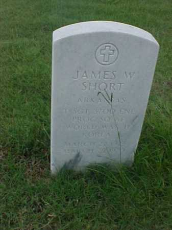SHORT (VETERAN 2 WARS), JAMES W - Pulaski County, Arkansas | JAMES W SHORT (VETERAN 2 WARS) - Arkansas Gravestone Photos