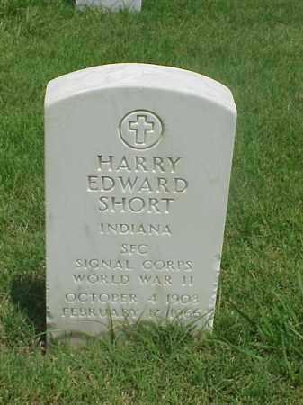 SHORT (VETERAN WWII), HARRY EDWARD - Pulaski County, Arkansas | HARRY EDWARD SHORT (VETERAN WWII) - Arkansas Gravestone Photos