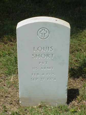 SHORT (VETERAN WWII), LOUIS - Pulaski County, Arkansas | LOUIS SHORT (VETERAN WWII) - Arkansas Gravestone Photos