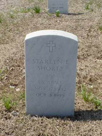 SHORTY (VETERAN), STARLYN ELISHA - Pulaski County, Arkansas | STARLYN ELISHA SHORTY (VETERAN) - Arkansas Gravestone Photos