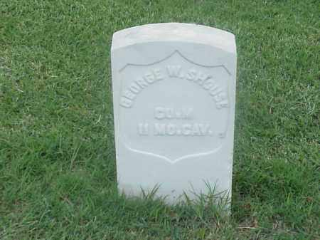 SHOUSE (VETERAN UNION), GEORGE W - Pulaski County, Arkansas | GEORGE W SHOUSE (VETERAN UNION) - Arkansas Gravestone Photos