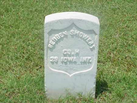 SHOWERS (VETERAN UNION), REUBEN - Pulaski County, Arkansas | REUBEN SHOWERS (VETERAN UNION) - Arkansas Gravestone Photos