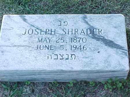 SHRADER, JOSEPH - Pulaski County, Arkansas | JOSEPH SHRADER - Arkansas Gravestone Photos