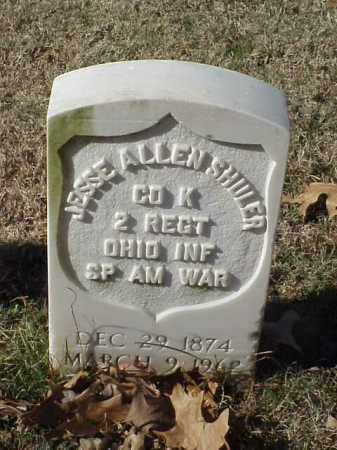 SHULER (VETERAN SAW), JESSE ALLEN - Pulaski County, Arkansas | JESSE ALLEN SHULER (VETERAN SAW) - Arkansas Gravestone Photos
