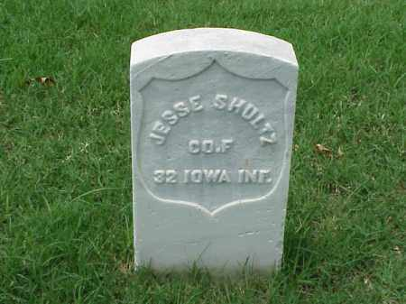 SHULTZ (VETERAN UNION), JESSE - Pulaski County, Arkansas | JESSE SHULTZ (VETERAN UNION) - Arkansas Gravestone Photos