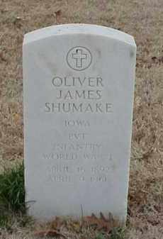 SHUMAKE (VETERAN WWI), OLIVER JAMES - Pulaski County, Arkansas | OLIVER JAMES SHUMAKE (VETERAN WWI) - Arkansas Gravestone Photos