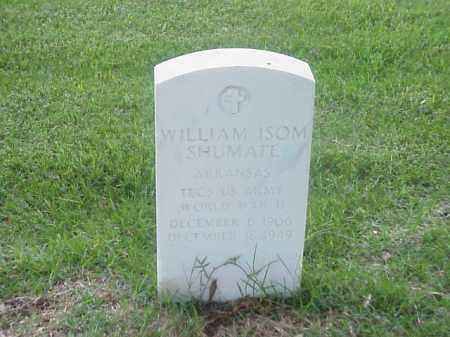 SHUMATE (VETERAN WWII), WILLIAM ISOM - Pulaski County, Arkansas   WILLIAM ISOM SHUMATE (VETERAN WWII) - Arkansas Gravestone Photos