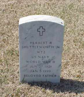 SHUTTLEWORTH, JR (VETERAN WWII, HERBERT RAYMOND - Pulaski County, Arkansas | HERBERT RAYMOND SHUTTLEWORTH, JR (VETERAN WWII - Arkansas Gravestone Photos