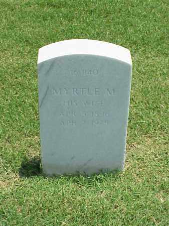 SIEVERS, MYRTLE M - Pulaski County, Arkansas | MYRTLE M SIEVERS - Arkansas Gravestone Photos
