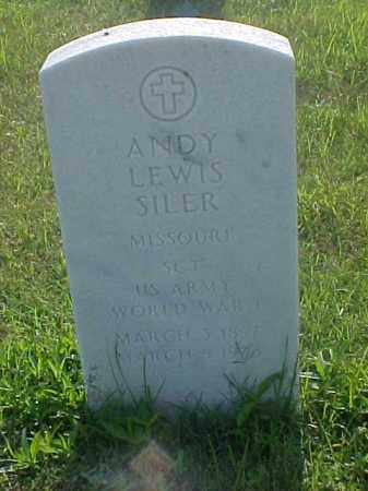 SILER (VETERAN WWI), ANDY LEWIS - Pulaski County, Arkansas | ANDY LEWIS SILER (VETERAN WWI) - Arkansas Gravestone Photos