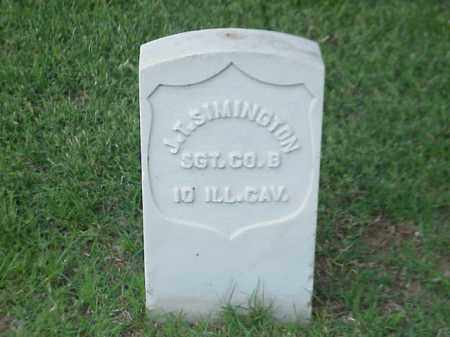SIMINGTON (VETERAN UNION), J T - Pulaski County, Arkansas | J T SIMINGTON (VETERAN UNION) - Arkansas Gravestone Photos