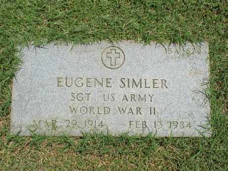 SIMLER (VETERAN WWII), EUGENE - Pulaski County, Arkansas | EUGENE SIMLER (VETERAN WWII) - Arkansas Gravestone Photos