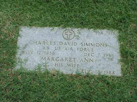 SIMMONS (VETERAN KOR), CHARLES DAVID - Pulaski County, Arkansas | CHARLES DAVID SIMMONS (VETERAN KOR) - Arkansas Gravestone Photos