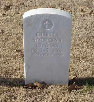 SIMMONS (VETERAN WWI), CURTIS - Pulaski County, Arkansas | CURTIS SIMMONS (VETERAN WWI) - Arkansas Gravestone Photos
