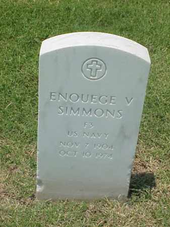 SIMMONS (VETERAN WWI), ENOUEGE V - Pulaski County, Arkansas | ENOUEGE V SIMMONS (VETERAN WWI) - Arkansas Gravestone Photos