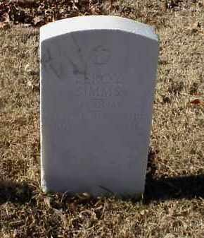 SIMMS (VETERAN WWI), LEROY - Pulaski County, Arkansas | LEROY SIMMS (VETERAN WWI) - Arkansas Gravestone Photos