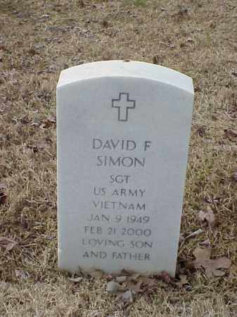 SIMON  (VETERAN VIET), DAVID F - Pulaski County, Arkansas | DAVID F SIMON  (VETERAN VIET) - Arkansas Gravestone Photos
