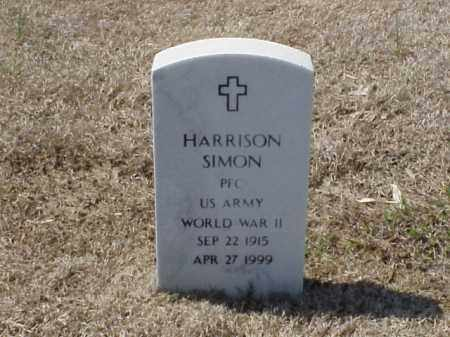 SIMON (VETERAN WWII), HARRISON - Pulaski County, Arkansas | HARRISON SIMON (VETERAN WWII) - Arkansas Gravestone Photos
