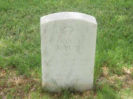 SIMON (VETERAN WWII), PAUL J - Pulaski County, Arkansas | PAUL J SIMON (VETERAN WWII) - Arkansas Gravestone Photos