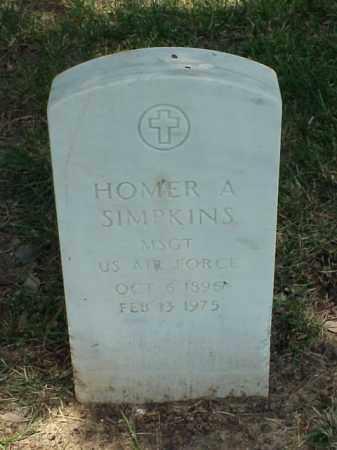 SIMPKINS (VETERAN KOR), HOMER A - Pulaski County, Arkansas | HOMER A SIMPKINS (VETERAN KOR) - Arkansas Gravestone Photos