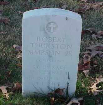 SIMPSON, JR (VETERAN WWII), ROBERT THURSTON - Pulaski County, Arkansas | ROBERT THURSTON SIMPSON, JR (VETERAN WWII) - Arkansas Gravestone Photos