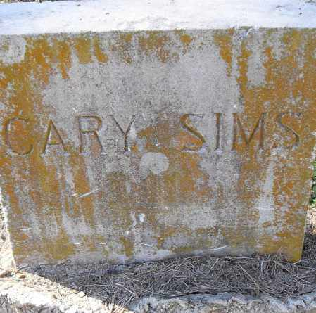 SIMS, CARY - Pulaski County, Arkansas | CARY SIMS - Arkansas Gravestone Photos