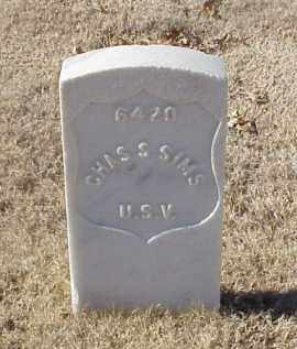 SIMS (VETERAN), CHARLES S - Pulaski County, Arkansas | CHARLES S SIMS (VETERAN) - Arkansas Gravestone Photos