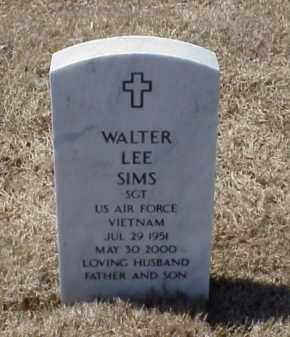 SIMS (VETERAN VIET), WALTER LEE - Pulaski County, Arkansas | WALTER LEE SIMS (VETERAN VIET) - Arkansas Gravestone Photos