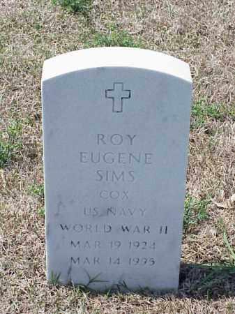 SIMS (VETERAN WWII), ROY EUGENE - Pulaski County, Arkansas | ROY EUGENE SIMS (VETERAN WWII) - Arkansas Gravestone Photos