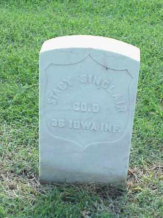 SINCLAIR (VETERAN UNION), STACY - Pulaski County, Arkansas | STACY SINCLAIR (VETERAN UNION) - Arkansas Gravestone Photos