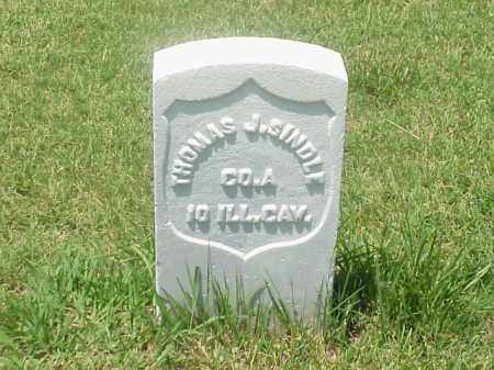 SINDLE (VETERAN UNION), THOMAS J - Pulaski County, Arkansas | THOMAS J SINDLE (VETERAN UNION) - Arkansas Gravestone Photos