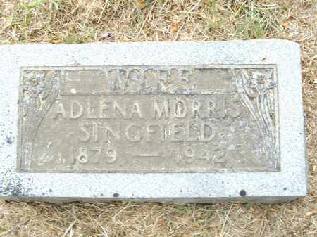 SINGFIELD, ADLENA - Pulaski County, Arkansas | ADLENA SINGFIELD - Arkansas Gravestone Photos