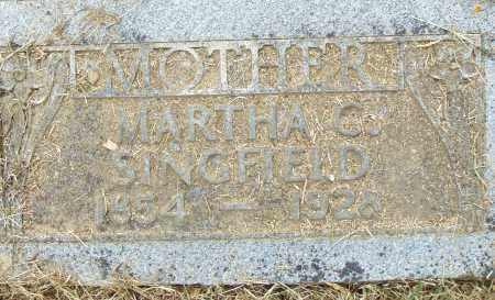 SINGFIELD, MARTHA C. - Pulaski County, Arkansas | MARTHA C. SINGFIELD - Arkansas Gravestone Photos
