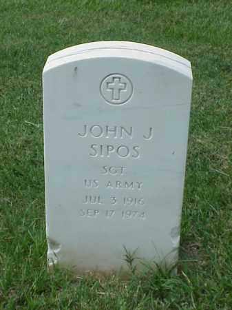 SIPOS (VETERAN WWII), JOHN J - Pulaski County, Arkansas | JOHN J SIPOS (VETERAN WWII) - Arkansas Gravestone Photos