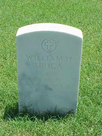 SIRICA (VETERAN WWII), WILLIAM H - Pulaski County, Arkansas | WILLIAM H SIRICA (VETERAN WWII) - Arkansas Gravestone Photos