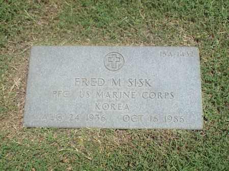 SISK (VETERAN KOR), FRED M - Pulaski County, Arkansas | FRED M SISK (VETERAN KOR) - Arkansas Gravestone Photos