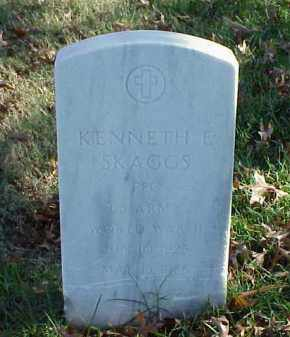 SKAGGS (VETERAN WWII), KENNETH E - Pulaski County, Arkansas | KENNETH E SKAGGS (VETERAN WWII) - Arkansas Gravestone Photos