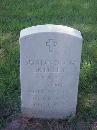 SKELLEY (VETERAN WWII), SHANNON M - Pulaski County, Arkansas | SHANNON M SKELLEY (VETERAN WWII) - Arkansas Gravestone Photos