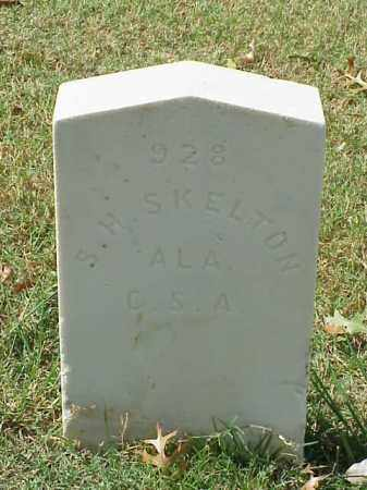 SKELTON (VETERAN CSA), S H - Pulaski County, Arkansas | S H SKELTON (VETERAN CSA) - Arkansas Gravestone Photos