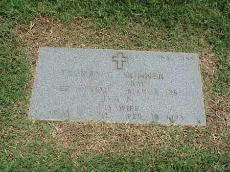 SKINNER (VETERAN WWII), TRUMAN C - Pulaski County, Arkansas | TRUMAN C SKINNER (VETERAN WWII) - Arkansas Gravestone Photos
