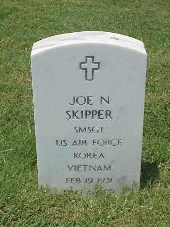 SKIPPER (VETERAN 2 WARS), JOE N - Pulaski County, Arkansas | JOE N SKIPPER (VETERAN 2 WARS) - Arkansas Gravestone Photos