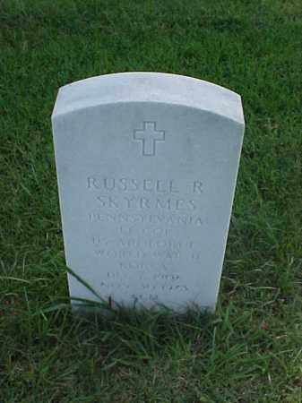 SKYRMES (VETERAN 2 WARS), RUSSELL R - Pulaski County, Arkansas | RUSSELL R SKYRMES (VETERAN 2 WARS) - Arkansas Gravestone Photos