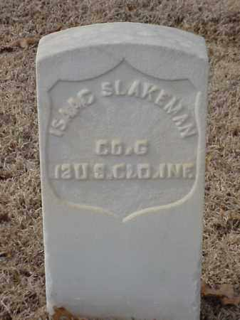 SLAKEMAN (VETERAN UNION), ISAAC - Pulaski County, Arkansas | ISAAC SLAKEMAN (VETERAN UNION) - Arkansas Gravestone Photos